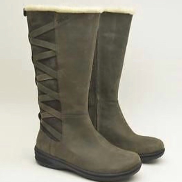 limited guantity new high quality new arrival Teva Figueroa waterproof leather winter boots